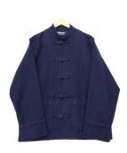 PHINGERIN(フィンガリン)の古着「カンフージャケット」|ネイビー