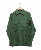 tilak(ティラック)の古着「ミリタリーシャツジャケット」 オリーブ