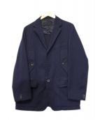 COMME des GARCONS HOMME(コムデギャルソンオム)の古着「3Bジャケット」 ネイビー