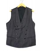 TAGLIATORE(タリアトーレ)の古着「ジレ」|グレー