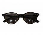 金子眼鏡(カネコメガネ)の古着「備長炭 SUNGLASSES」|ブラウン