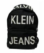 Calvin Klein Jeans(カルバンクラインジーンズ)の古着「リュック」|ブラック