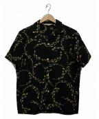 Star OF HOLLYWOOD(スターオブハリウッド)の古着「半袖シャツ」|ブラック