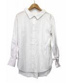 THE IRON(アイロン)の古着「ギャザーブラウス」|ホワイト