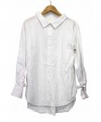 THE IRON(アイロン)の古着「ギャザーブラウス」 ホワイト
