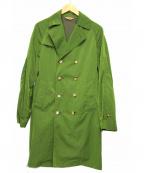 ETONNE(エトネ)の古着「ナイロントレンチコート」|オリーブ