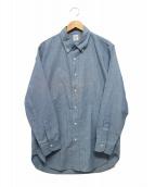 ORGUEIL(オルゲイユ)の古着「Chombray Button Down Shirt」|ブルー