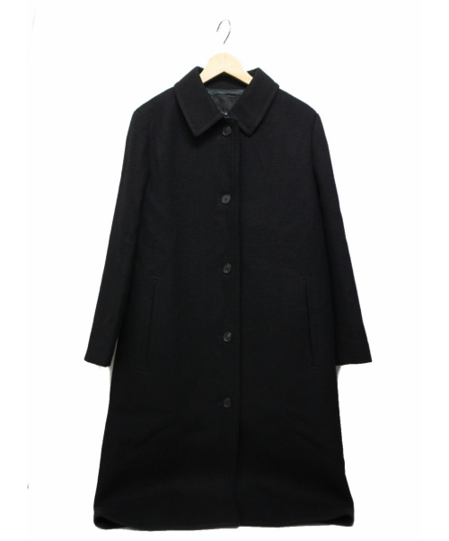 icB(アイシービー)icB (アイシービー) Blushed Wool コート ブラック サイズ:42  参考定価50.000円+税の古着・服飾アイテム