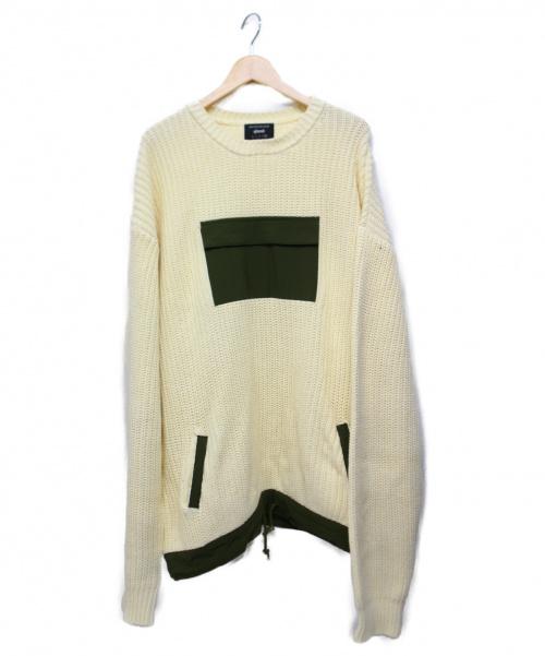 GLAMB(グラム)GLAMB (グラム) Jorja knit アイボリー サイズ:4 参考定価20.000円+税の古着・服飾アイテム