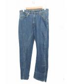 LEVIS RED(リーバイスレッド)の古着「立体裁断デニムパンツ」|ブルー