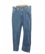 LEVIS RED(リーバイスレッド)の古着「立体裁断デニムパンツ」 ブルー