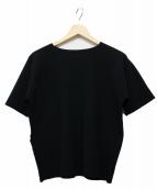 PLEATS PLEASE(プリーツプリーズ)の古着「半袖カットソー」|ブラック
