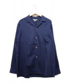 GAIJIN MADE(ガイジンメイド)の古着「長袖シャツ」|ネイビー