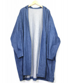 DANIELAGREGIS(ダニエラグレジス)の古着「デニムトッパーコート」|インディゴ