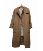 DRESSTERIOR(ドレステリア)の古着「ノーカラーコート」|キャメル