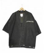 VISVIM(ビズビム)の古着「SANJURO KIMONO ジャケット」|グレー