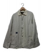 POST OALLS(ポストオーバーオールズ)の古着「カバーオール」 ホワイト