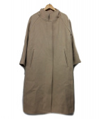 DRESSTERIOR(ドレステリア)の古着「メルトンラグランスリーブコート」|ベージュ