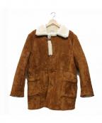DELUXE(デラックス)の古着「ムートンコート」|ブラウン