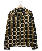 BUTCHER PRODUCTS(ブッチャープロダクツ)の古着「オープンカラーシャツ」|ブラック