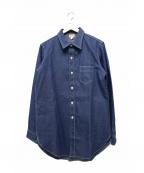 ATLAST & CO(アットラスト)の古着「デニムシャツ」 インディゴ