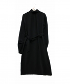 THE IRON(アイロン)の古着「ブラウスワンピース」 ブラック