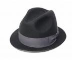 BORSALINO(ボルサリーノ)の古着「フェルトハット」|ブラック