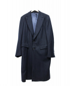 Ermenegildo Zegna(エルメネジルドゼニア)の古着「カシミヤブレンドオーバーコート」 ネイビー