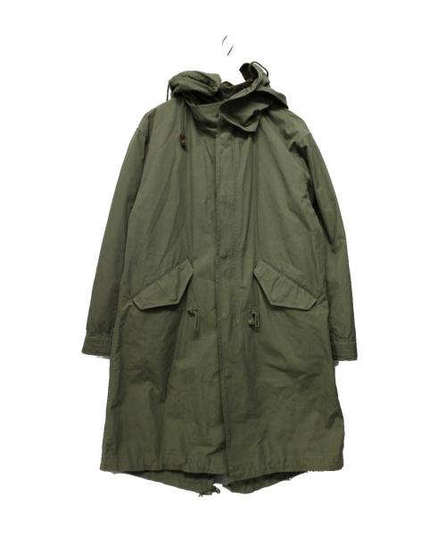 TODAYFUL(トゥデイフル)TODAYFUL (トゥデイフル) モッズコート オリーブ サイズ:38の古着・服飾アイテム
