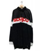 adidas ×ALEXANDER WANG(アディダス × アレキサンダーワン)の古着「ロゴカットソー」|ブラック
