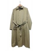 TICCA(ティッカ)の古着「リバーシブルコート」|ベージュ×ブラック