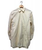 CASA FLINE(カーサフライン)の古着「ボリュームスリーブブラウス」|アイボリー
