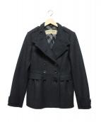 BURBERRY LONDON(バーバリーロンドン)の古着「Pコート」|ブラック