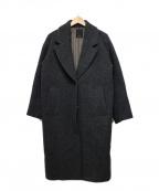 NOMBRE IMPAIR(ノンブルアンペール)の古着「Big collar coat」 グレー