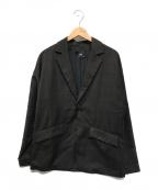 HARE()の古着「テーラードジャケット」|ブラウン