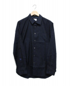 LANVIN en Bleu(ランバンオンブルー)の古着「シャツ」 ネイビー