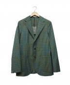 BOGLIOLI()の古着「テーラードジャケット」|グリーン