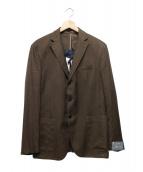Cantarelli(カンタレリ)の古着「3Bテーラードジャケット」|ブラウン