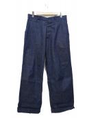 Muller & Bros(ミューラーアンドブロス)の古着「デニムパンツ」 インディゴ