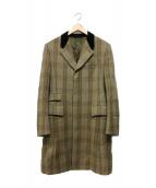 Paul Smith COLLECTION(ポールスミスコレクション)の古着「チェスターコート」|ベージュ