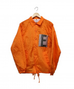 Soe(ソーイ)の古着「コーチジャケット」 オレンジ