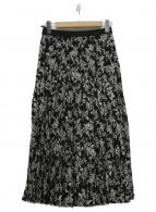 23区(ニジュウサンク)の古着「プリーツスカート」|ブラック