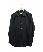 COMME des GARCONS(コムデギャルソン)の古着「ワイドカラーシャツ」 ブラック