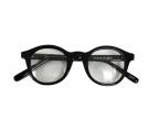 ORGUEIL(オルゲイユ)の古着「Celluloid Glasses」|ブラック