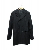 COMME des GARCONS HommePlus(コムデギャルソンオムプリュス)の古着「アームデザインテーラードジャケット」|ブラック