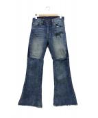 LEVIS VINTAGE CLOTHING(リーバイス ヴィンテージ クロージング)の古着「505 CUSTOMIZED BELLS」|インディゴ