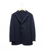 GABRIELE PASINI(ガブリアルパジーニ)の古着「3Bテーラードジャケット」|ネイビー