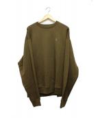 SOPH.(ソフ)の古着「FRUIT OF THE LOOM CREW NECK SW」|ブラウン