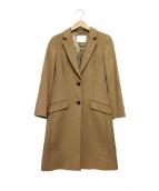 HUGO BOSS(ヒューゴボス)の古着「Cavira wool blend coat」|ベージュ