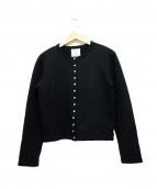 agnes b(アニエスベー)の古着「カーディガンプレッション」|ブラック